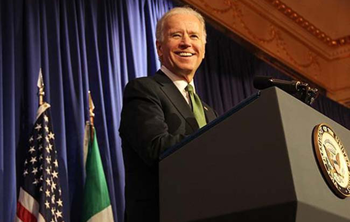Joe Biden visits Ireland IUSA