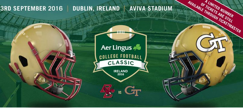 IUSA tickets for Aer Lingus College Football Classic